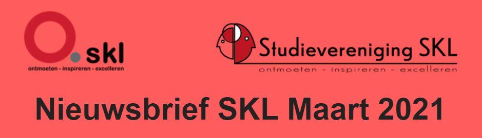 Nieuwsbrief SKL Maart 2021