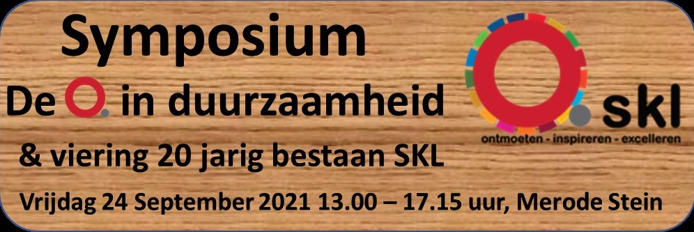 Symposium: De Q in Duurzaamheid & viering 20 jarig bestaan SKL