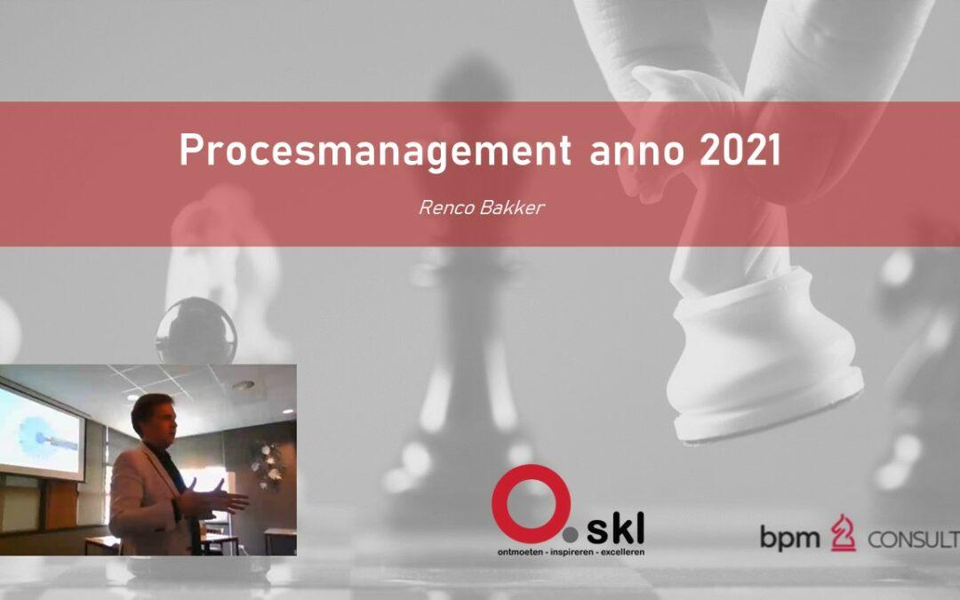 SKL-bijeenkomst 25 juni: Procesmanagement – Renco Bakker